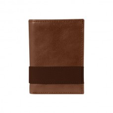 Overstock Westbridge Two-Tone Tri-Fold Wallet
