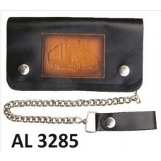 6 Inch Biker Chain Wallet with 6 pockets and Truck