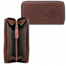 Voyager Slim Zip-Around Travel Wallet