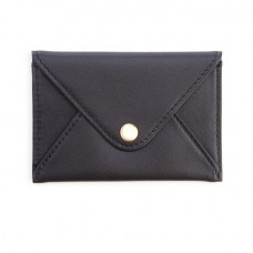 Genuine Leather Envelope Card Case