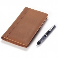Slim Leather Passport Wallet