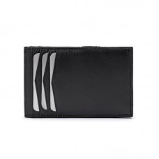 Cowhide Napa Leather Slim Wallet (Inner I.D. Window)