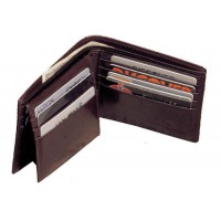 Cowhide Napa Leather Pass Case Wallet