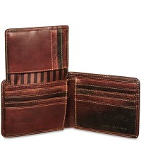 Voyager Bifold Wallet With Id Flap