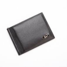 Saffiano Leather Money Clip Credit Card Front Pocket Wallet (RFID Blocking)