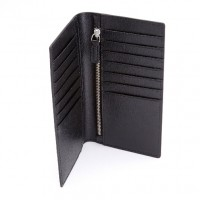 Saffiano Bifold Credit Card Wallet (RFID Blocking)