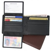 Euro Commuter Wallet (RFID Blocking)